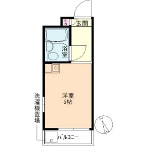 1R Mansion in Okubo - Shinjuku-ku Floorplan
