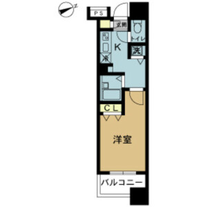 1K Mansion in Minamicho - Hachioji-shi Floorplan