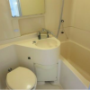 1R Apartment to Buy in Minato-ku Bathroom