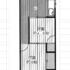 2K Apartment to Rent in Taito-ku Floorplan