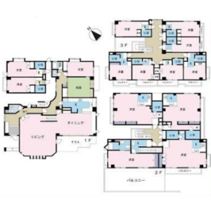 Whole Building {building type} in Komaba - Meguro-ku Floorplan