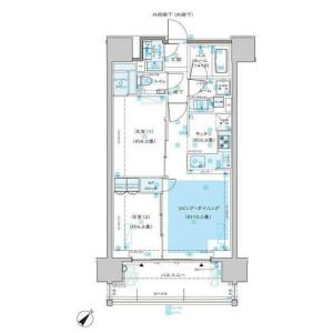 2LDK Mansion in Hommachi - Shibuya-ku Floorplan