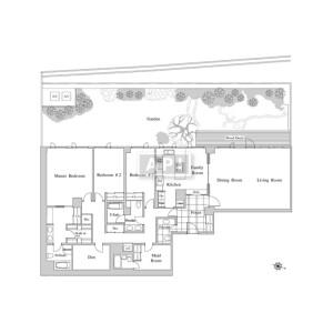 3SLDK Apartment in Minamiazabu - Minato-ku Floorplan