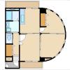 3DK Apartment to Rent in Kawasaki-shi Takatsu-ku Floorplan