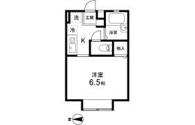 さいたま市中央区 - 上落合 公寓 1K