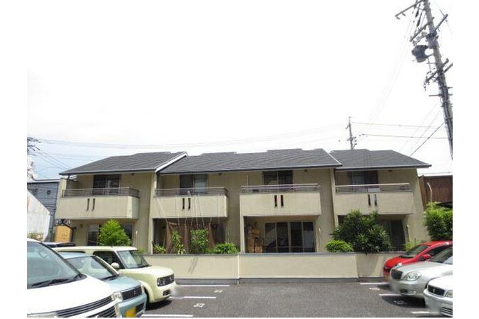 2LDK Terrace house to Rent in Nagoya-shi Higashi-ku Exterior