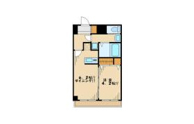杉並区上高井戸-1DK公寓大厦