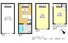 2K {building type} in Sumiyoshi - Fukuoka-shi Hakata-ku