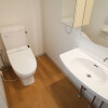 1LDK Apartment to Rent in Shinjuku-ku Toilet