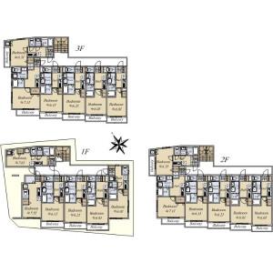 Whole Building {building type} in Nekozane - Urayasu-shi Floorplan