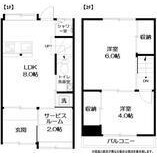 2LDK House in Tsukishima - Chuo-ku Floorplan
