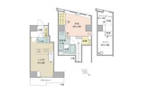目黒区下目黒-1LDK公寓大厦