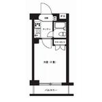 1K Apartment in Tsuruma - Yamato-shi Floorplan