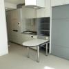 在港區內租賃1R 公寓大廈 的房產 起居室