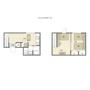 matsuri montly zoushigaya LE 43★ - Serviced Apartment, Toshima-ku Floorplan