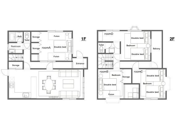 4LDK House to Rent in Katsushika-ku Floorplan