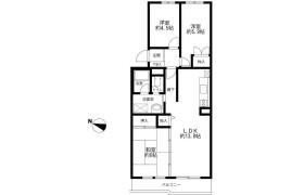 3LDK Apartment in Besshiyo - Yokohama-shi Minami-ku