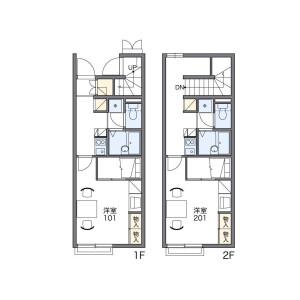 1K Apartment in Shimoigusa - Suginami-ku Floorplan