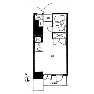 1R Mansion in Maruyamacho - Shibuya-ku Floorplan