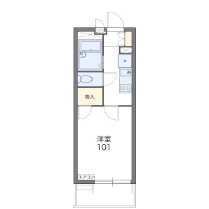 1K Mansion in Kitagata - Kitakyushu-shi Kokuraminami-ku Floorplan