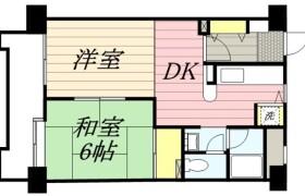 1LDK {building type} in Sumiyoshi - Fukuoka-shi Hakata-ku