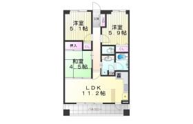 3LDK Apartment in Ninomiyacho - Kobe-shi Chuo-ku