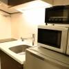 在江东区内租赁1K 公寓大厦 的 厨房