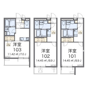 1K Mansion in Ichigayanakanocho - Shinjuku-ku Floorplan
