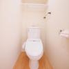 1R Apartment to Buy in Taito-ku Toilet