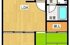 2LDK Apartment in Hakataeki mae - Fukuoka-shi Hakata-ku