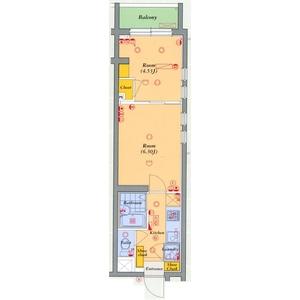 2K Mansion in Minamidai - Nakano-ku Floorplan