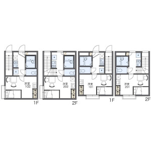 1K Apartment in Botan - Koto-ku Floorplan