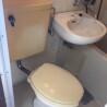 1K Apartment to Rent in Sagamihara-shi Chuo-ku Toilet