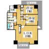 2LDK Apartment to Rent in Osaka-shi Yodogawa-ku Floorplan