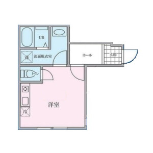 1R Apartment in Oi - Shinagawa-ku Floorplan