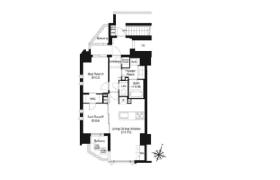 千代田区三番町-2LDK公寓