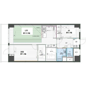 1SLDK Mansion in Takada - Toshima-ku Floorplan