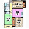 3DK Apartment to Rent in Suginami-ku Floorplan