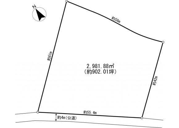 Land only Land only to Buy in Kitasaku-gun Karuizawa-machi Floorplan