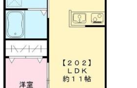 1LDK Apartment in Saranuma - Adachi-ku