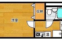1K Apartment in Takeokamachi - Fukuoka-shi Hakata-ku