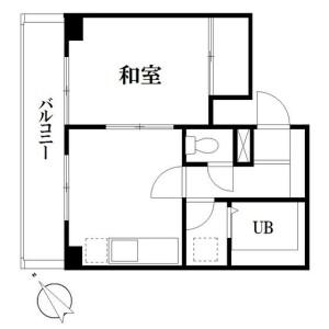 1DK Mansion in Nishisugamo - Toshima-ku Floorplan