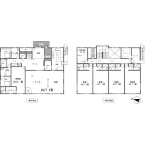4LDK {building type} in Hirano - Minamitsuru-gun Yamanakako-mura Floorplan