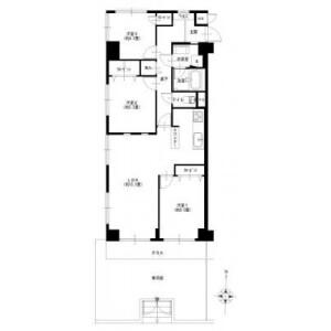 3LDK {building type} in Komaoka - Yokohama-shi Tsurumi-ku Floorplan