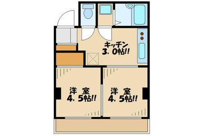 2K Apartment to Rent in Meguro-ku Exterior