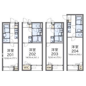 1K Apartment in Nerima - Nerima-ku Floorplan