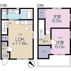 2LDK Apartment in Maenocho - Itabashi-ku Floorplan