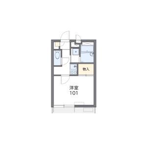 1K Mansion in Sekimachihigashi - Nerima-ku Floorplan