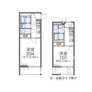 1K Mansion in Kitakojiya - Ota-ku Floorplan