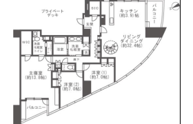 涩谷区恵比寿-3LDK公寓大厦